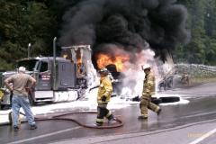Commercial Vehicle Fire SR422 2012